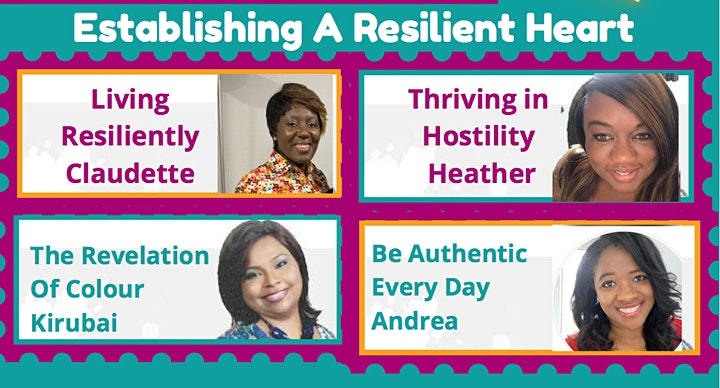 ESTABLISHING THE RESILIENT HEART Series2-Supporting Women Everywhere image