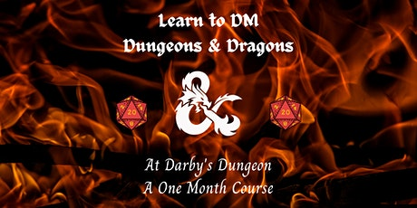 Learn to DM Dungeons and Dragons 5E tickets