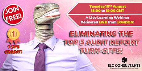 Eliminating the Top 5 Audit Report Turn-Offs! tickets