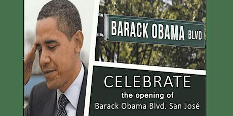 Walk & Dedication of New Barack Obama Boulevard tickets