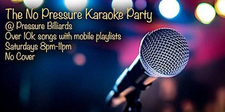 Free Karaoke Party at Pressure Bar tickets