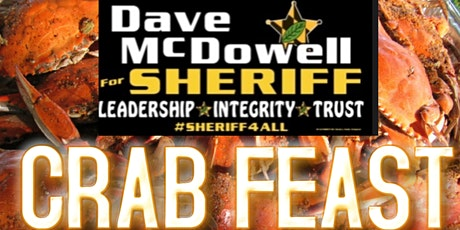 Dave McDowell for Sheriff Crab Feast tickets