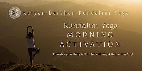 Kundalini Yoga Morning Activation tickets