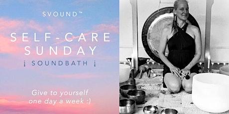 SELF-CARE SUNDAY Soundbath tickets