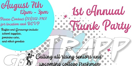 Trapp Hippie Collective 1st Annual Trunk Party tickets