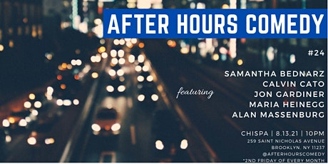 After Hours Comedy at Chispa tickets