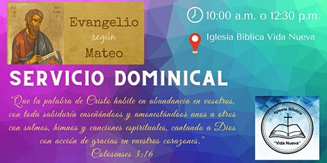 Servicio Dominical IBVN tickets