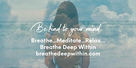 FREE Online Meditation, Breathwork & Sound Healing Mondays & Wednesdays tickets