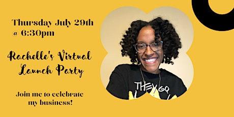Rachelle's Virtual Launch Party tickets