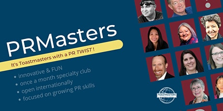 Public Relations Masters (Robust PR You Can Trust - Join Us in August!) tickets