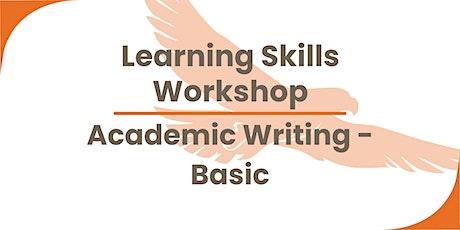 Academic writing (basic) tickets
