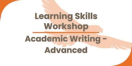 Academic writing (advanced) tickets