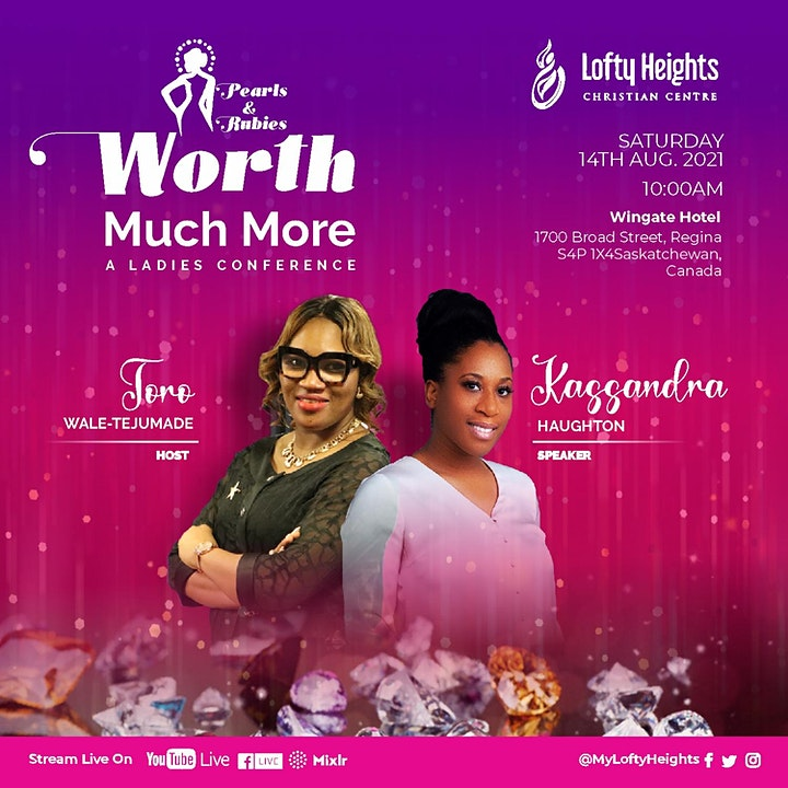 Worth Much More - A Ladies Conference image