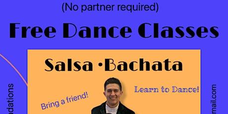 Free Salsa/ Bachata Classes tickets