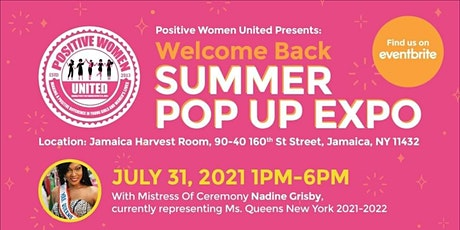 Positive Women United Summer Pop Up Expo tickets