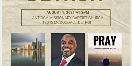 Committee to Elect Adam Mundy presents A Prayer Hour for Detroit tickets