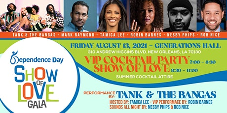 2021 Dependence Day Show of Love Gala tickets