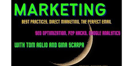 Marketing with Tom Aglio and Gina Scarpa tickets