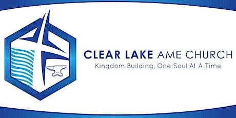 Clear Lake AME Church Worship Service tickets