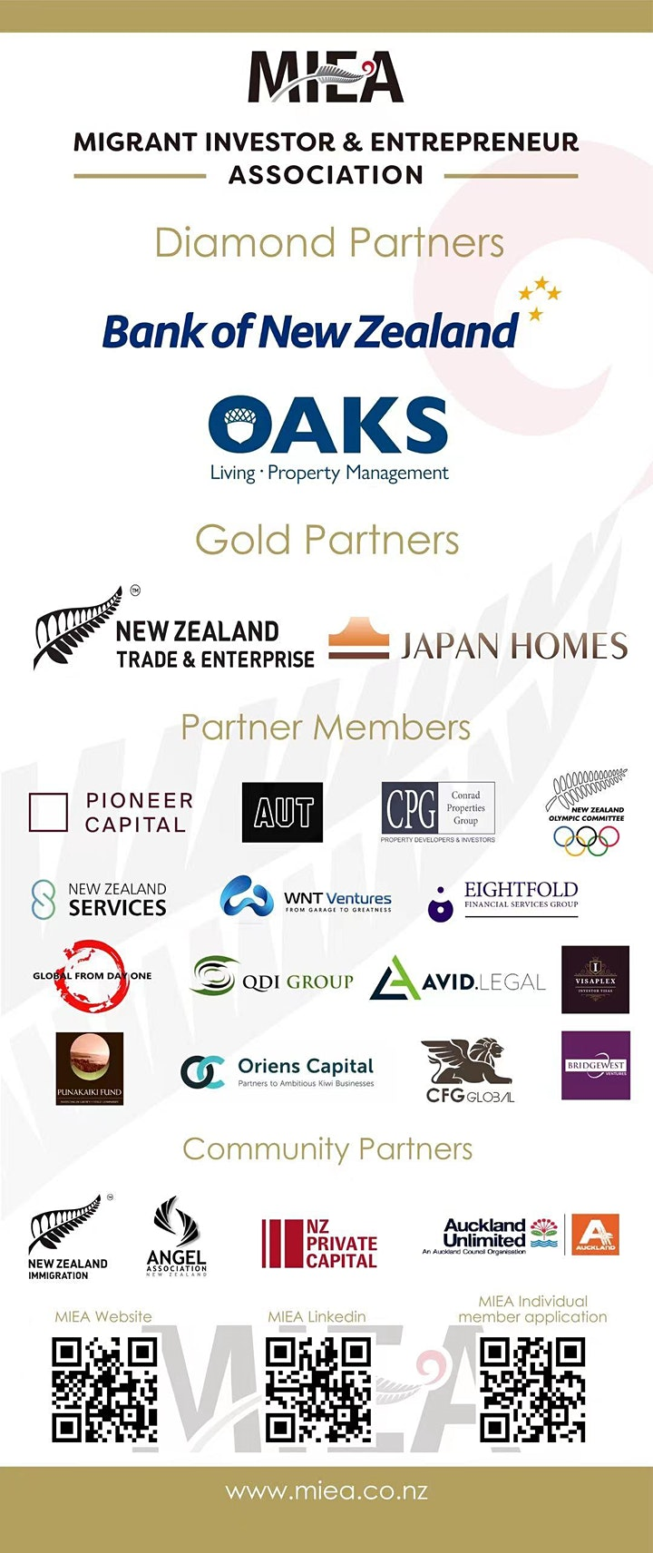 MIEA Philanthropy event hosted by the Bank of New Zealand image