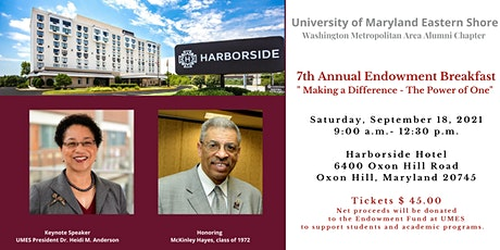 UMES - Washington Metropolitan Area Alumni Chapter Endowment Breakfast tickets