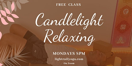 Candlelight Relaxing  Yoga Class tickets