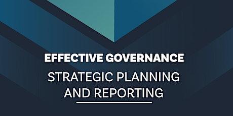 NZSTA Strategic Planning and Reporting Gisborne tickets