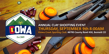 5th Annual COWA Clay Shooting Challenge tickets