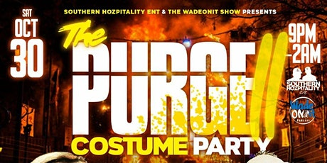 PURGE II : HALLOWEEN COSTUME PARTY tickets
