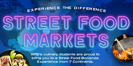 'Experience the Difference' Street Food Markets tickets