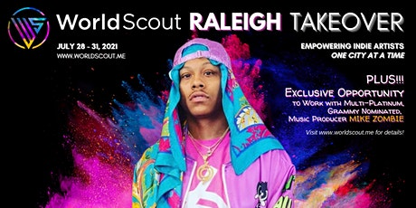 WorldScout Raleigh Takeover tickets