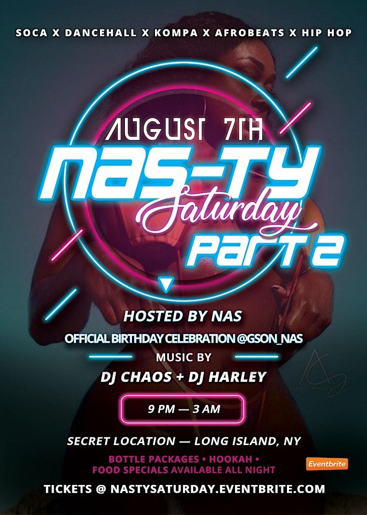 Nasty Saturdays Part 2: Soca | Dancehall | Afrobeats | Kompa Party image