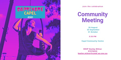 Captivate Capel - Community  Meetings tickets