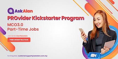 AskAlan PROvider Kickstarter Program tickets