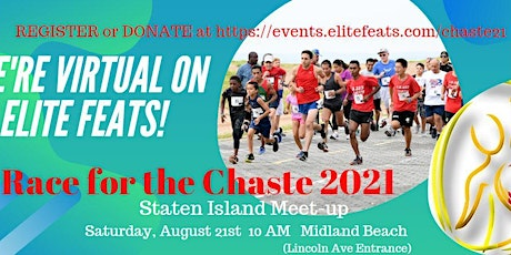 Virtual Race for the Chaste 2021 Fundraiser tickets