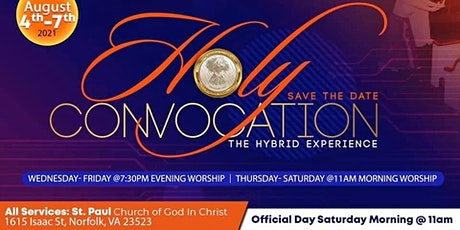 Holy Convocation: Second Ecclesiastical Jurisdiction of Virginia tickets