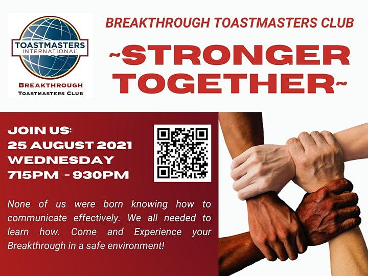 Stronger Together! @ BTMC Chapter Meeting image