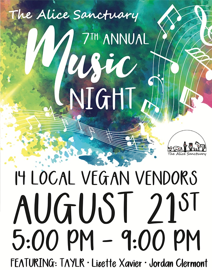 7th Annual Music Night at The Alice Sanctuary image