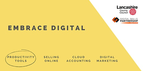 Digital Project Management Tools | Embrace Digital (Lancashire) tickets
