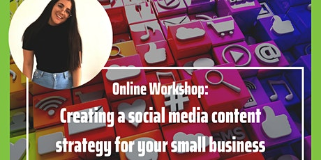 Creating a social media content strategy for your small business tickets