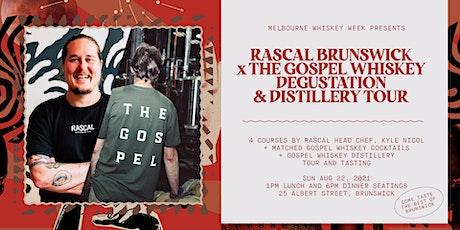 Melbourne Whisky Week: Gospel x Rascal - Degustation & Distillery Tour tickets