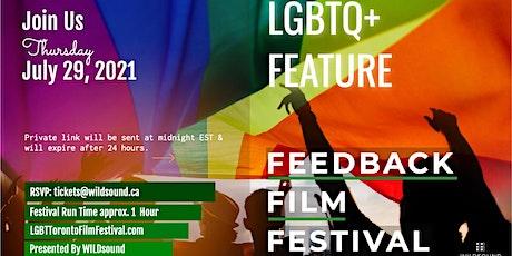 LGBTQ+ Feature Film Festival. Award winning film. Stream FREE this Thursday tickets