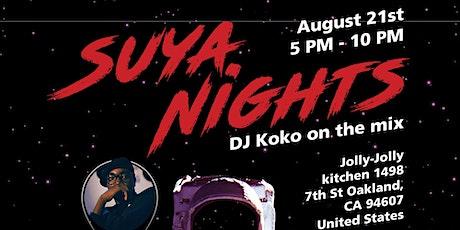 Suya Nights tickets