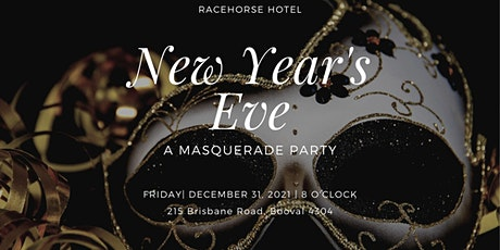 New Years Eve Masquerade Ball tickets