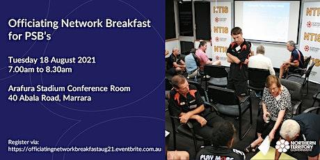 Officiating Network Breakfast tickets