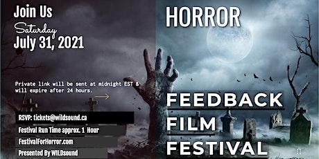 HORROR Film Festival. Tonya Piinkin's feature . Streams FREE all day Sunday tickets