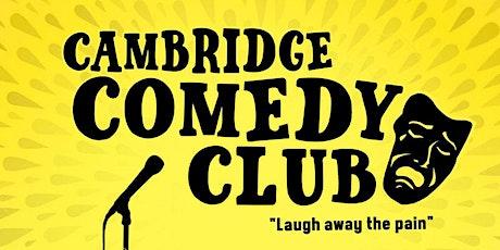 Cambridge Comedy Club - Every Saturday! tickets