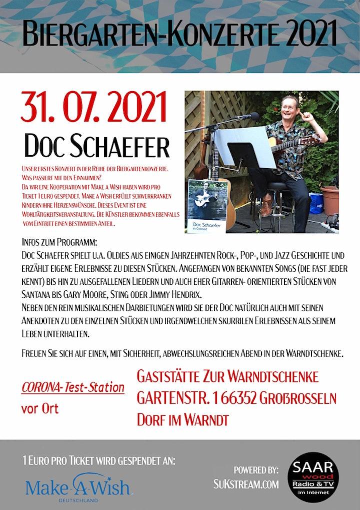 Biergarten-Konzerte 2021 / Kultur Sommer im Saarland: Bild