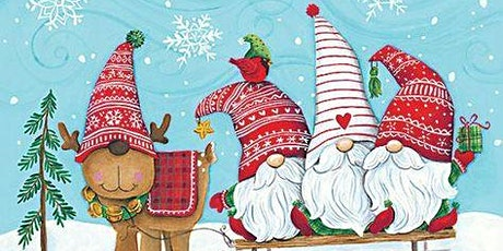 Winter Gnome Painting Workshop tickets