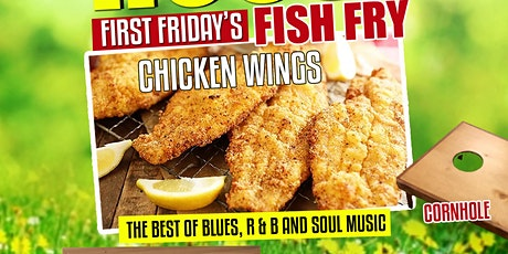 PACK HOUSE   FIRST FRIDAY'S   FRIED FISH  & WINGS tickets